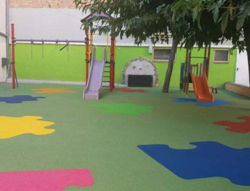 Parc infantil Cautxú Puzzle
