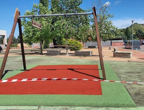 Finalizamos un parque de caucho en La Sentiu de Sió